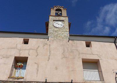 Reloj y campanario del Ayuntamiento