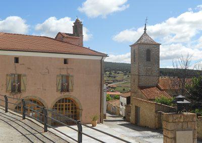 Ayuntamiento, Plaza e Iglesia