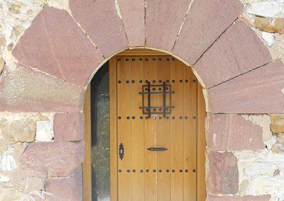 Entrada a la Iglesia de la Santa Cruz